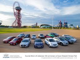 Hyundai Cars In Rapid City by Hyundai Motor Uk Celebrates 10 Years T W White U0026 Sons Blog