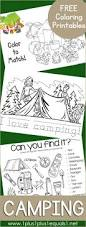 free camping coloring printables coloring activities and