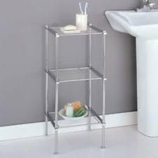 Metal Bathroom Storage Metal Bathroom Shelves Ebay