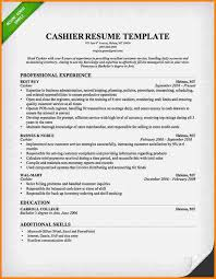 cashier resume template 7 cashier resume template based resume
