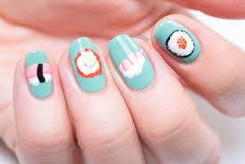 nigiri nails sushi nail art nailed it the nail art blog