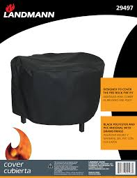 Landmann Grandezza Outdoor Fireplace fire pit covers landmann usa grills smokers u0026 fire pits manufacturer