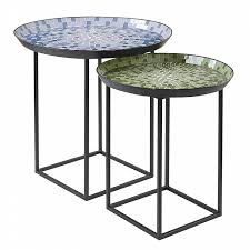 garden oasis mosaic nesting tables shop your way online