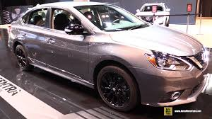 gray nissan sentra 2017 2017 nissan sentra midnight edition exterior and interior