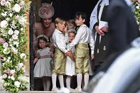 little mites steal the show at pippa middleton u0027s wedding day