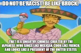 be smart be like brock pokémon know your meme