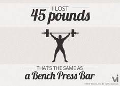 Bench Press Calculater I Lost 65 Pounds That Is The Same As 55 Hammers I Lost What