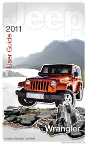 jeep wrangler 2011 jk 3 g user guide