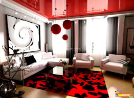 Red Sofa In Living Room by Modern Living Room Black And Red Design Home Design Ideas