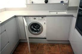 washing machine with sink washing machine in kitchen ream second nature kitchen washing