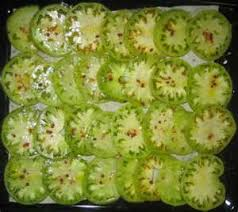 cuisiner les tomates vertes tomate verte le des jardins de thélème