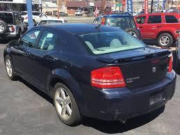 2008 blue dodge avenger 2008 dodge avenger awd r t 4dr sedan in milford ct bel air auto