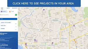 Washington Area Code Map by Pipe Replacement Projects Washington Gas