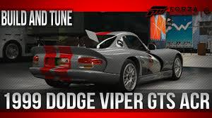 build dodge viper forza motorsport 6 build and tune a class 1999 dodge viper gts
