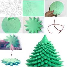 how to make different types of christmas trees simple craft ideas