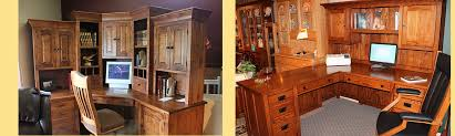 Custom Home Office Cabinets In Interesting Inspiration Custom Home Office Furniture Custom Built