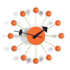 Esszimmerst Le Orange Vitra Ball Clock Kugeln Orange Von George Nelson 1948