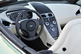 aston martin cars interior 2014 aston martin vanquish volante review automobile magazine