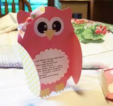 owl invites using paisley cricut cartridge nellies nest little
