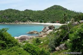 silver beach in koh samui haad thong ta khian crystal bay near