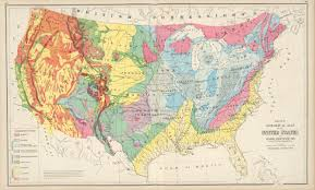 Map If Us Antique Geological Maps