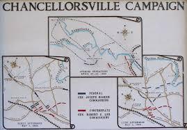 Salem Virginia Map by Battle Of Chancellorsville Va