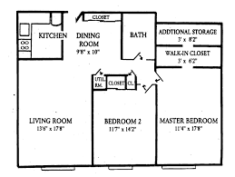 Small 4 Bedroom Floor Plans 2 Bedroom Apartment Floor Plans Home Planning Ideas 2017