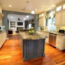 Galley Kitchens With Island - blue galley kitchen photos hgtv
