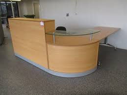 Flat Pack Reception Desk Flat Pack Computer Desk Graysonline