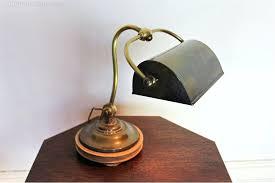 Vintage Brass Table Lamps Desk Vintage Stiffel Brass Table Lamps Edwardian Brass Desk Lamp