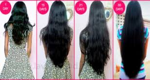 1 inch of hair make your hair grow faster than ever 1 inch growth per week