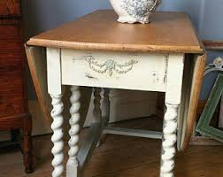 Vintage Drop Leaf Table Etsy Your Place To Buy And Sell All Things Handmade