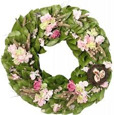 roses magnolia wreath the magnolia company