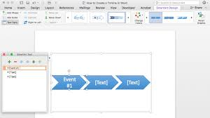 how to make a timeline in word u0026 free template teamgantt