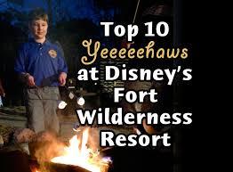 top 10 yeehaws at disney u0027s fort wilderness resort passporter blogs