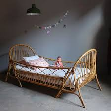 used toddler beds vintage rattan toddler beds from moon to moon toddler bed