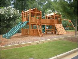 backyards gorgeous backyard wooden swing sets backyard