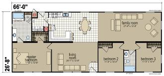 Champion Floor Plans Creekside Manor 4663a Redman Homes Redman Homes California