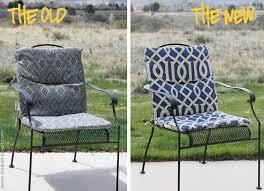 High Back Patio Chair Cushion Wonderful Ideas Patio Chair Cushion Tufted High Back Patio Chair