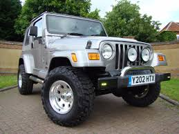 silver jeep rubicon used in bedfordshire jeep wranglers for sale uk claridges cars