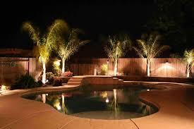 outdoor backyard ground lights ideas pool lighting ideas design u