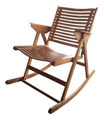 Rocking Chair Runners Vintage U0026 Used Tan Rocking Chairs Chairish