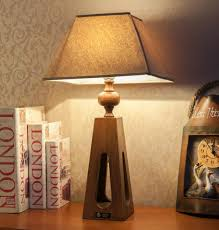 Tiny Table Lamps Marvelous Custom Wooden Desk Lamp With Free Adjustable Plank With