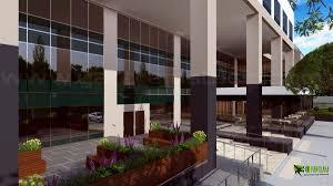3d spacious building exterior design arch student com