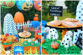 great pumpkin charlie brown party pretty my party
