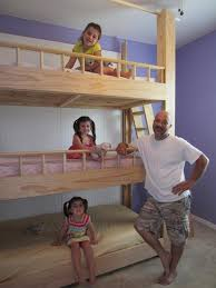 3 Level Bunk Bed Best 25 Triple Bunk Beds Ideas On Pinterest Triple Bunk 3 Bunk