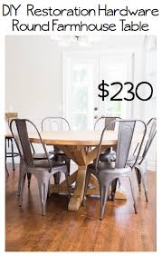 Kitchen Table Hardware by Do It Yourself Divas Diy Round Restoration Hardware Table And