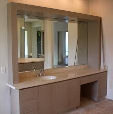 Vanity Mirror Bathroom by Bathroom Mirrors A Cut Above Glass