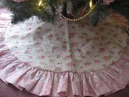 pink christmas tree skirt christmas lights decoration