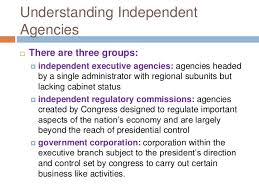 Us Cabinet Agencies Civil Service And Independent Agencies